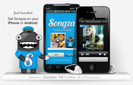 Amazon Backed Songza Launches 'Music Concierge' Songs For Every Mood | Music business | Scoop.it