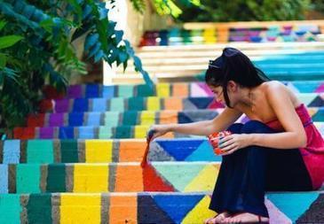 STREET ART • Colorer les marches  de Beyrouth | Lebanon | Scoop.it