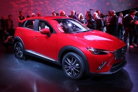 Mazda CX-3 : le tueur de Renault Captur et Peugeot 2008 ? - En direct du salon de Los Angeles | Mazda | Scoop.it