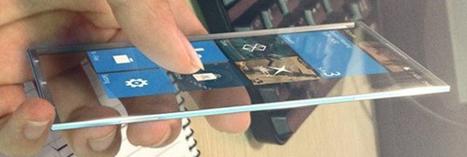 Windows Phone Surface N : Un séduisant nouveau concept de smartphone transparent   Mobile Marketing for Mobile People   Scoop.it