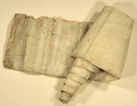 Les archives du Calvados acquièrent un rouleau de l'abbaye de Troarn datant du début du XVIe siècle - Espace actualité - Conseil général du Calvados | Sacrés Ancêtres, le mag | Scoop.it