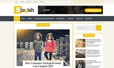 Blogish Blogger Template | Blogger themes | Scoop.it