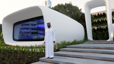World's first 3D-printed office opens in Dubai for €125,000 | Geeks | Scoop.it