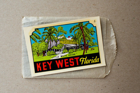 Vintage Key West Florida Travel Decal | Photography | Scoop.it