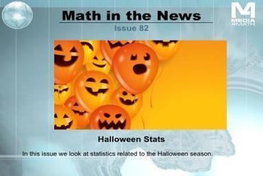 Math in the News: statistics related to Halloween 2013 | iGeneration - 21st Century Education | Scoop.it