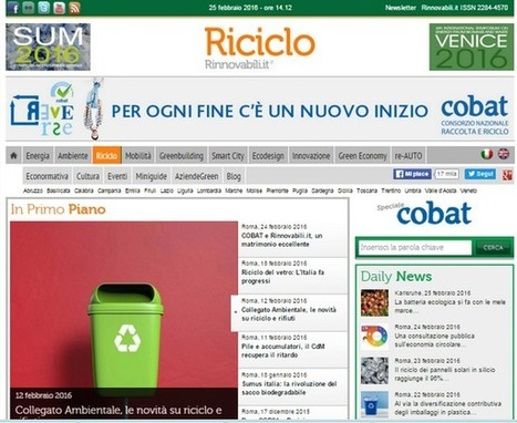 Economia circolare: Nasce Riciclo il web magazine di Rinnovabili.it | Social Media Press | Scoop.it