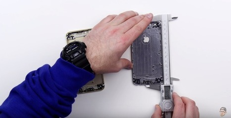 Apple essaye de se rattraper, l'iPhone 6s ne se plira pas !   Tuitec   Scoop.it