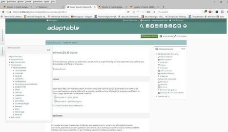 "Updates To The ""Adaptable"" Theme, The Riverbed Of Your Moodle Layout Ideas 
