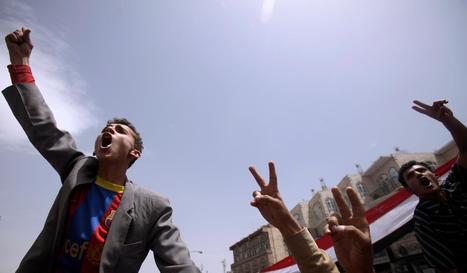 Yemeni Demonstrators Clash With Police, Leaving 80 Injured   Coveting Freedom   Scoop.it