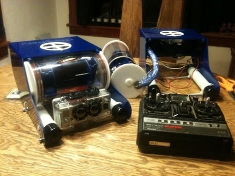 OpenROV to Perform Preliminary Dives   Arduino Focus   Scoop.it