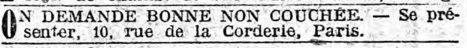Les petites annonces du journal « Le Matin »  d'il y a 100 ans - La Boite Verte | Nos Racines | Scoop.it