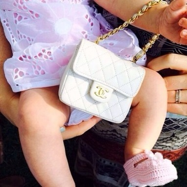 Katy Perry buys niece a baby Chanel bag | Chanel | Scoop.it