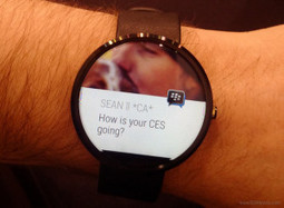 BBM for Android Wear - Read Messages On Smartwatch Itself | Android and iOS Apps | Scoop.it