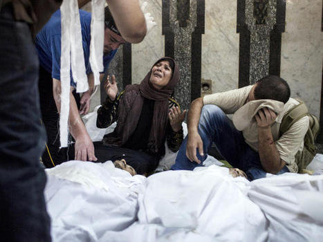 Egypt's security forces storm mosque filled with protesters - CBS News | Egypt | Scoop.it