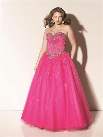 Ball Gown Sweetheart Tulle Floor-length Sleeveless Sequins Quinceanera Dresses at pickedlooks.com | Quinceanera Dresses 2014 | Scoop.it