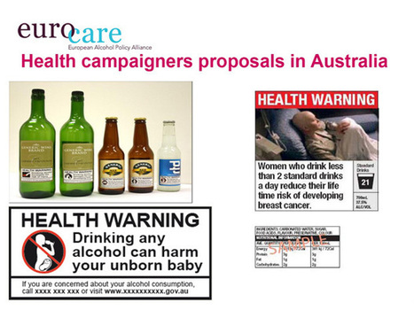 Public-health advocates pushing for graphic, cigarette-style health warnings on wine, beer and liquor containers (Canada) | Alcohol & other drug issues in the media | Scoop.it