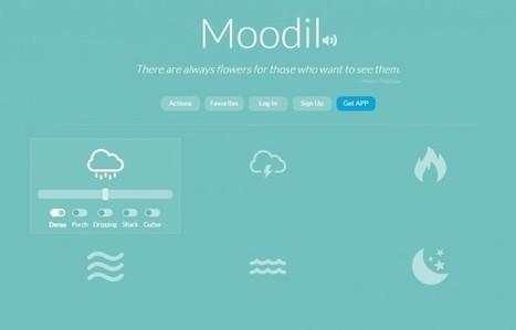 moodil, una excelente forma de crear sonidos relajantes | Educación con tecnología | Scoop.it