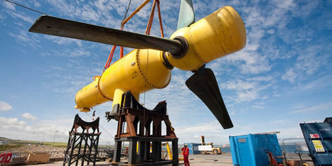 Tidal Generation | Exploiting the deep water resource – reliably, invisibly, economically | EMR sites web | Scoop.it