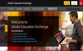Adobe Education Exchange - An Excellent Educational Platform for Teachers ~ Educational Technology and Mobile Learning | Technology to Teach | Scoop.it