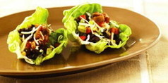 Lettuce-Wrap Tacos with Black Beans and Corn | 4-Hour Body Bean Cookbook | Scoop.it