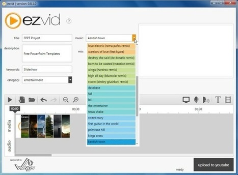 Ezvid - Record Screencast And Create Slideshows | Technology and language learning | Scoop.it
