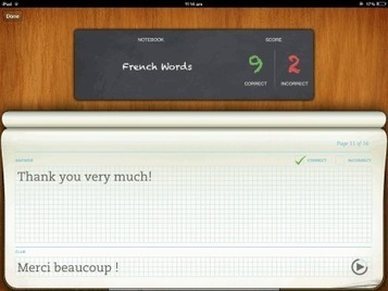 Evernote Peek: iPad Learning App, Integrated With #Evernote | Time to Learn | Scoop.it