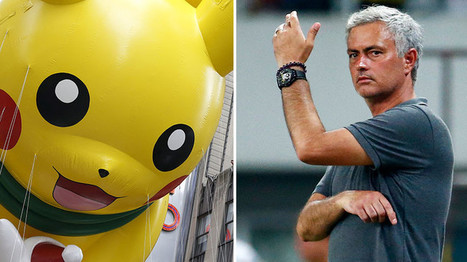 No Pokemon Go before matches:  ManU coach Mourinho imposes ban on app | Saif al Islam | Scoop.it