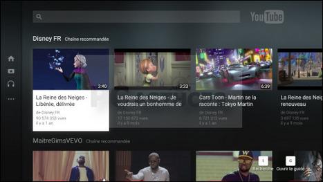 Adapter YouTube à sa télévision - Tous les navigateurs Web | Time to Learn | Scoop.it