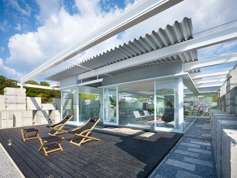 naf architect & design: glass house for diver | Design Love | Scoop.it