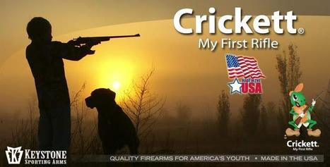 Crickett Firearms - My First Rifle - Youth Model 22 Rifles - Proudly Made In The USA | The Global Village | Scoop.it