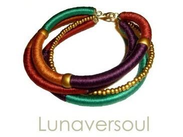 Etsy Lunaversoul Bohemian Rhapsody Bracelet - Stylehive | DIY bracelets | Scoop.it