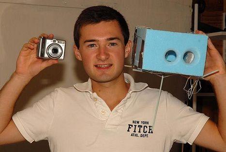 TÊTE EN L'AIR – L'espace capturé avec un appareil photo à 37 € et une boîte à chaussures | Merveilles - Marvels | Scoop.it