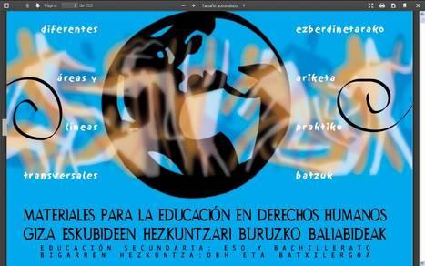 Materiales para la educación en Derechos Humanos | Enseñar Geografía e Historia en Secundaria | Scoop.it