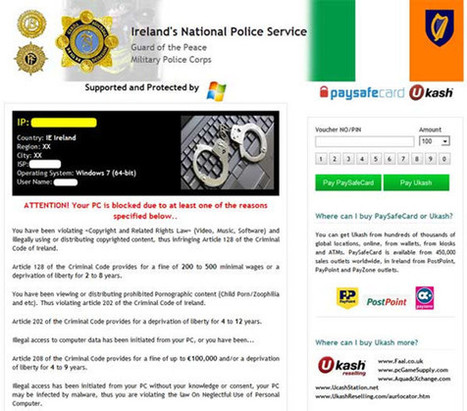 Remove Ireland's National Police Service Virus on Android Phone, Android Virus Removal | Remove PC Virus and Upgrade PC Performance | Scoop.it