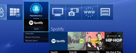 PlayStation Music – Sony's collaboration with Spotify – goes live in 41 countries today | MUSIC:ENTER | Scoop.it