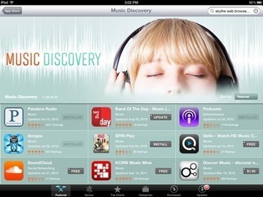 Music Discovery Apps Featured in iPad App Store This Week — iPad Insight | Edutechification | Scoop.it