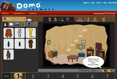 Domo Animate - Create animations | Brainfriendly, motivating stuff for ESL EFL learners | Scoop.it