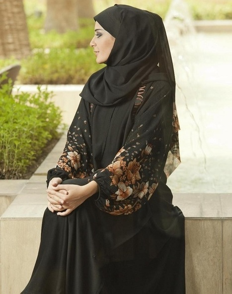 Unique Black Abaya Styles | SCANFREE | Hijab Fashion | Scoop.it