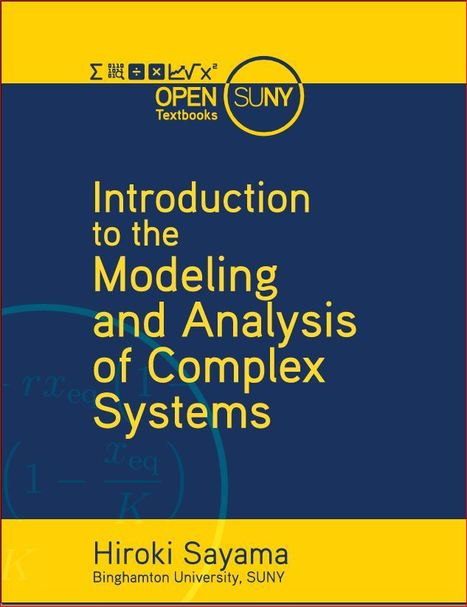 Introduction to the Modeling and Analysis of Complex Systems | Living Health Systems | Scoop.it
