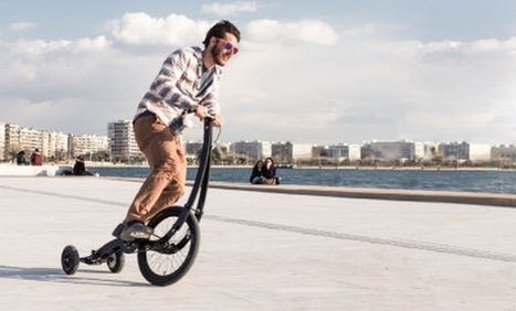HalfBike : un vélo qui se conduit debout   Efficycle   Scoop.it