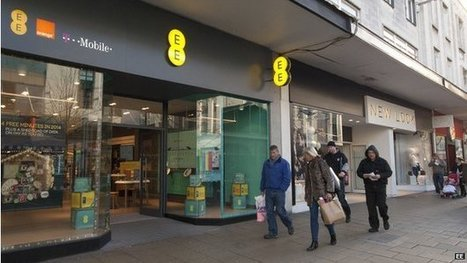BT to buy mobile firm EE for £12.5bn | Royal Russell Business Studies Unit 4 | Scoop.it