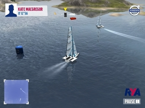 Sail for Gold Game driven by Volvo updated for 2013   The Daily Sail   Sailing and Regatta : Apps, SW & Tracking   Scoop.it