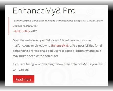 برنامجSeriousBit EnhanceMy8 v 1.1.1 Proتحسين نظام ويندوز 8 | منتديات تعليم وابداع | Scoop.it