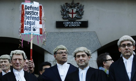 Courts close across England and Wales as lawyers protest at legal aid cuts - The Guardian   Activism, Protest, Citizen Movements, Social Justice   Scoop.it
