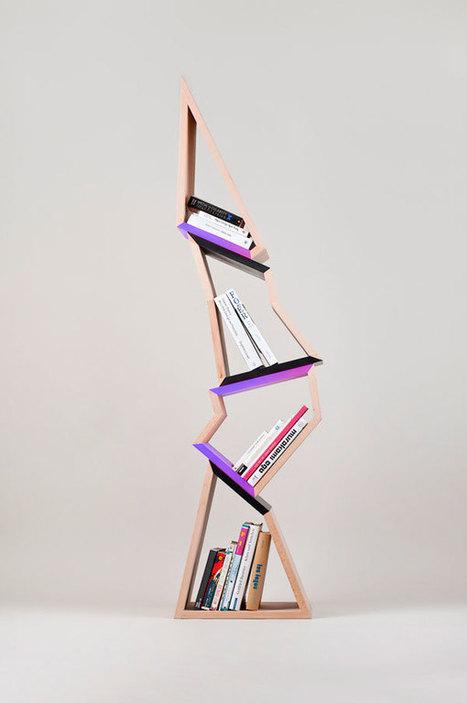 21 Cool Bookshelf Designs #inspiredbydesign   Design   Scoop.it
