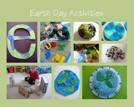 Earth Day Crafts and Books | No Time For Flash Cards | Earth Day 2013 | Scoop.it