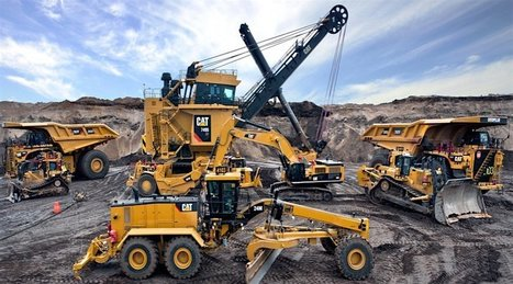 'Caterpillar sees green shoots in mining, but sales far from picking up' @investorseurope #mining | Mining, Drilling and Discovery | Scoop.it