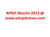 Education and Job News: APRJC Results 2013 | All Exam results | Scoop.it