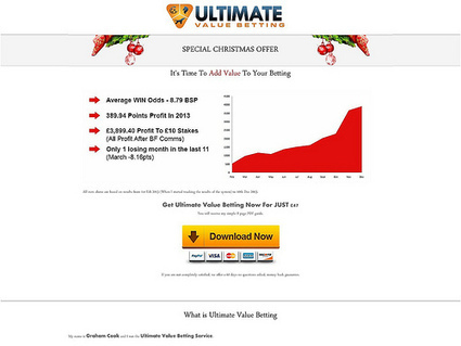 Ultimate Value Betting: Avg Win Odds 8.79 review | Basic principles of Losing weight | Scoop.it