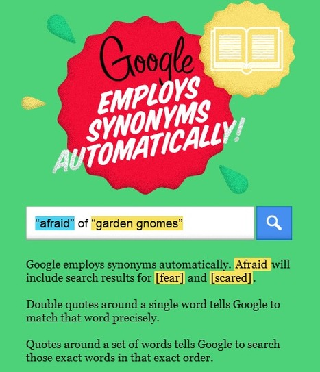 Tips and Tricks to Understanding Google-Interactive Infographic | Technological Sparks | Scoop.it